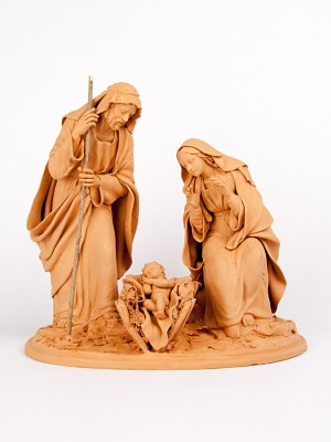 Natività in terracotta (H 28)